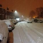 Grove Lane in January 2013, by Howard Gittins