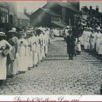 Standish Walking Day in 1920. Picture supplied by Stan Aspinall