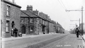 High Street, Standish, in the 1930s