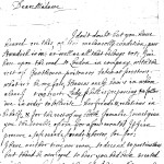 Letter from Ralph Standish, 1715