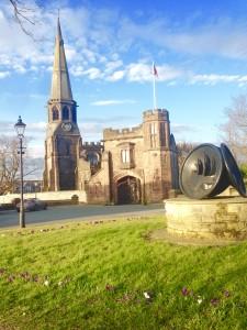 St Wilfrid's in early Spring, by Judith Aiken