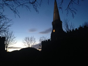 St Wilfrid's Church by Judith Aiken