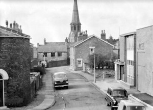 Cross Street in the 1950s. Submitted by Stan Aspinall