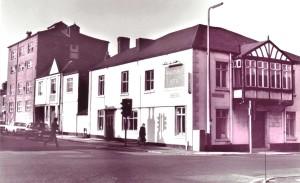 Wheatsheaf pub in 1970s
